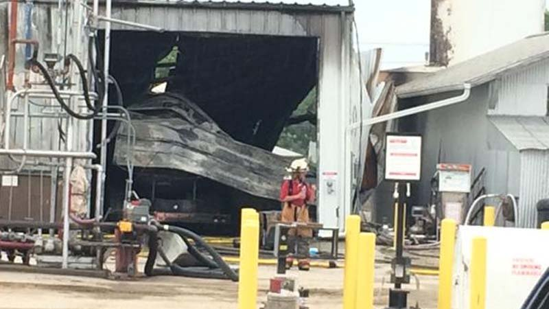 Two people injured were both Sapp Bros. employees