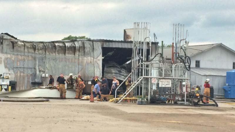 Explosion rocks downtown West Point, Nebraska