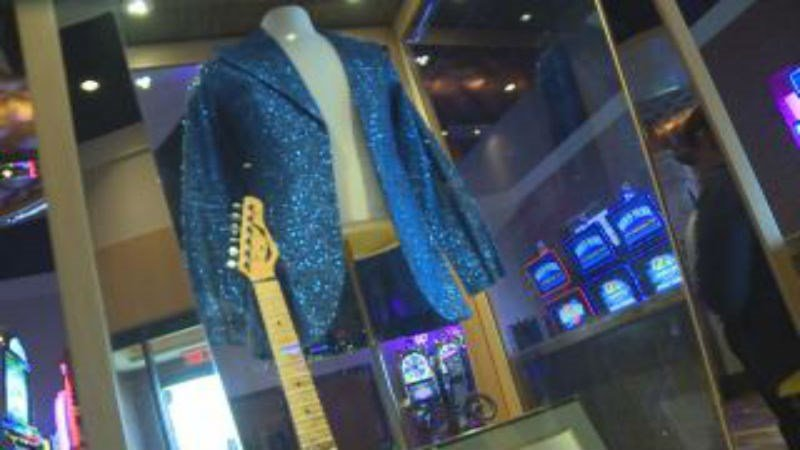 As of Thursday, you can see a second display of Tommy Bolin memorabilia at the Hard Rock Hotel & Casino Sioux City.