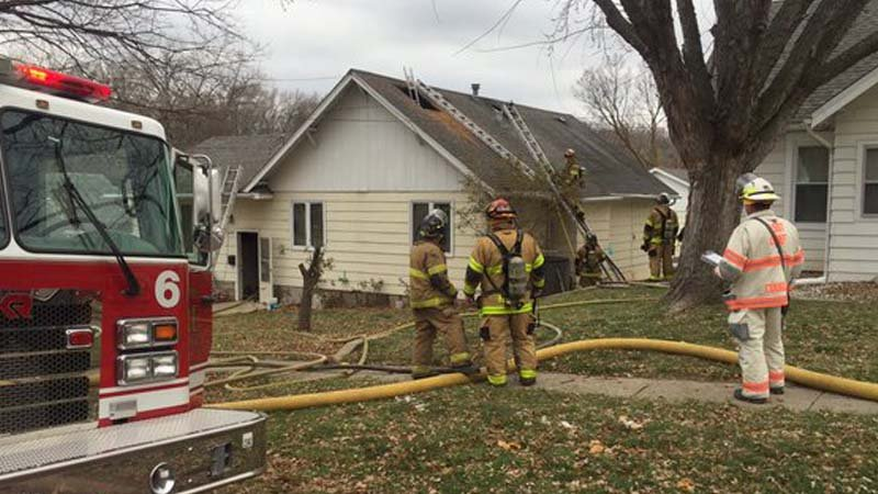Family dog dies in house fire on South Rustin in Sioux City.
