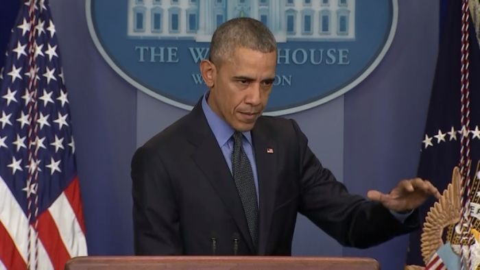 President Obama outlines his goals.