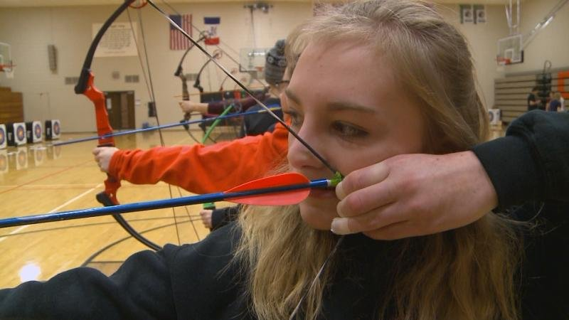 About 125 students make up Sgt. Bluff-Luton's archery team.