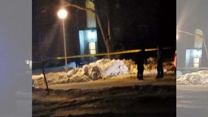 Courtesy: April Zeman/ Picture taken Sunday around 3:30am at the Valley Park Apartments in Sioux City.