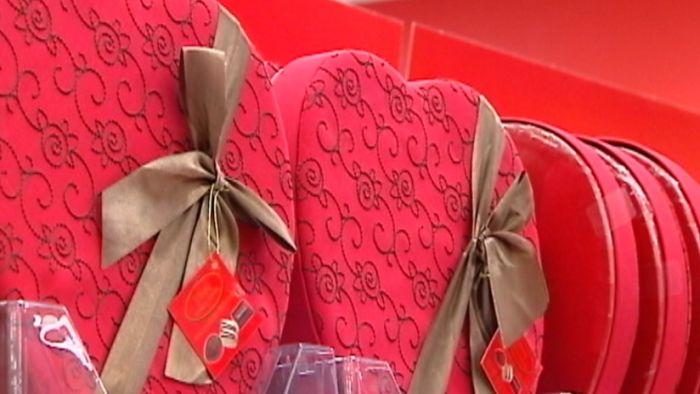 Valentine's Day: big business