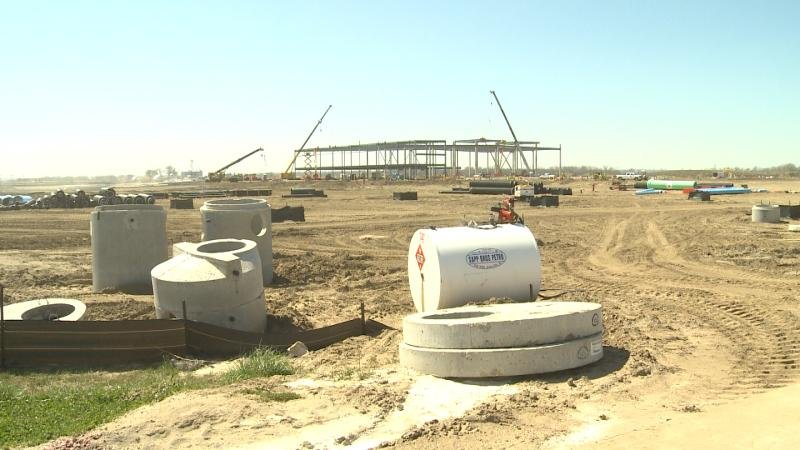 seaboard triumph foods facility construction underway - ktiv news