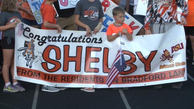 Sioux City Community Gives Local Olympian A Proper Send