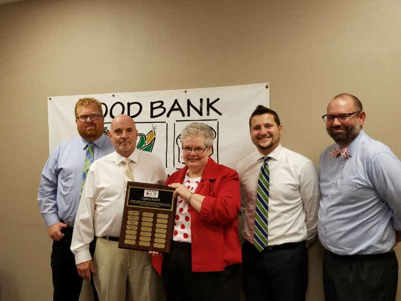 food bank of siouxland honors partners with 39 celebrate our