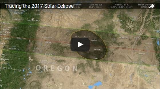 Nasa tracking the 2017 solar eclipse kwwl eastern for Weather forecast solar eclipse 2017