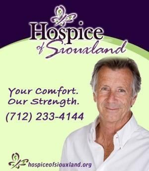 Hospice of Siouxland - Sponsorship Header