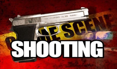 Police are looking for the person who shot an 18-year-old man in the leg Wednesday night in South Sioux, Nebraska