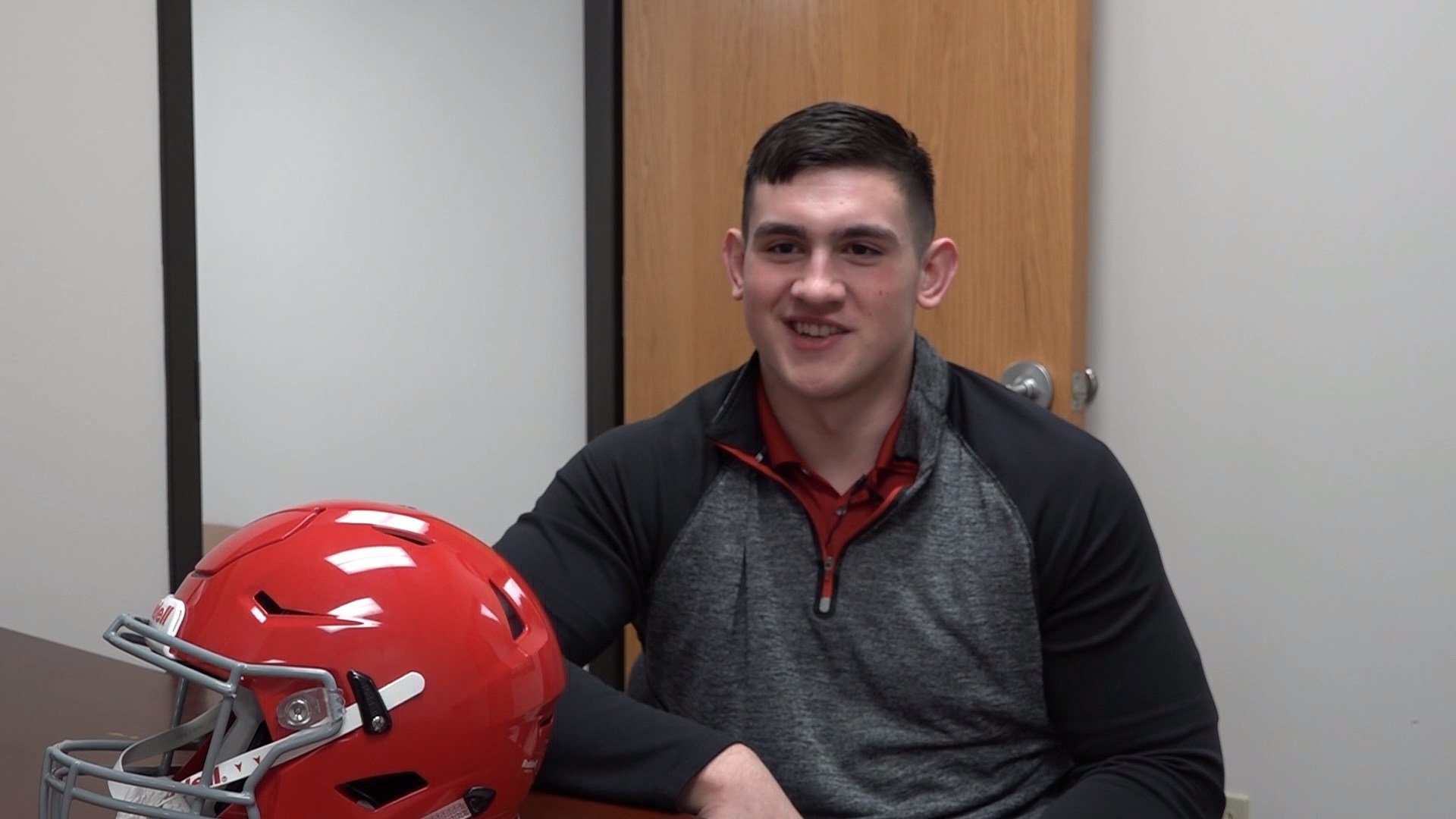 Ethan Piper verbally committed to Nebraska last week.